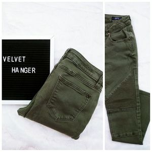 Vigoss The Jagger Skinny 26 x 28  green stretch